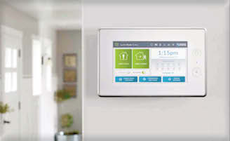 home alarm monitoring satin