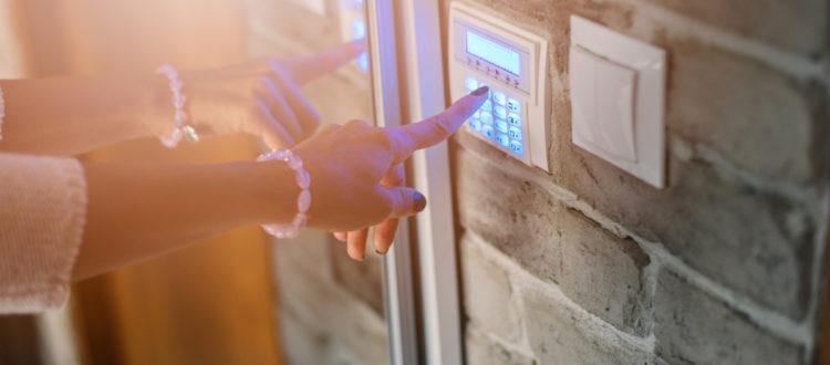 home security door access control